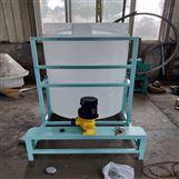 电镀厂混凝剂投药装置
